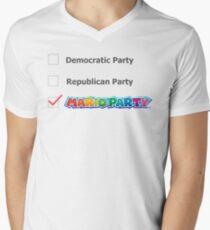 """Mario Party"" Political Party T-Shirt"