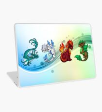 Four Elements - Dragons Laptop Skin