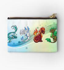 Four Elements - Dragons Zipper Pouch