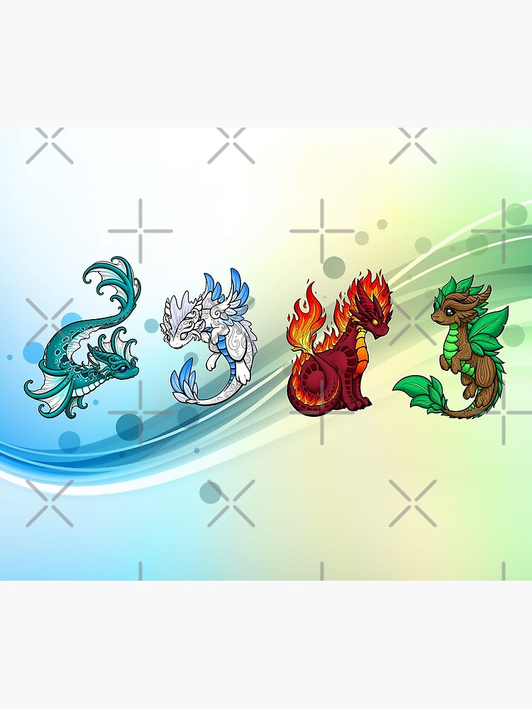Vier Elemente - Drachen von bgolins