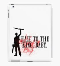 Hail to the king, baby.  iPad Case/Skin