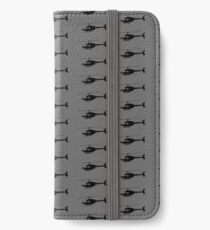 Urban Chopper Helicopter Silhouette iPhone Wallet/Case/Skin
