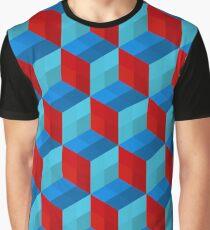 Cube Pattern I Graphic T-Shirt