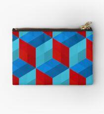 Cube Pattern I Studio Pouch