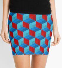 Cube Pattern I Mini Skirt