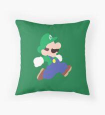 Mario Party (Luigi) Throw Pillow