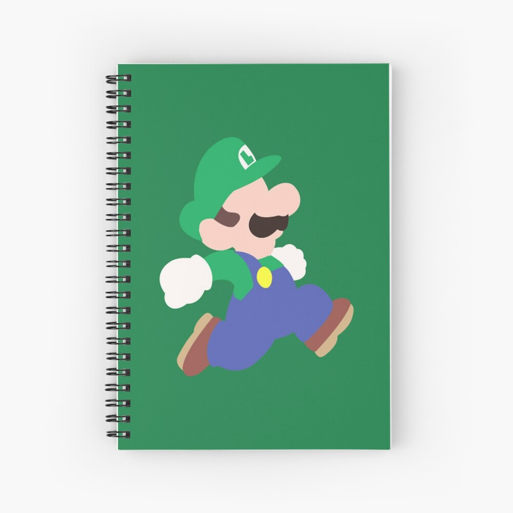 Mario Party (Luigi) Spiralblock