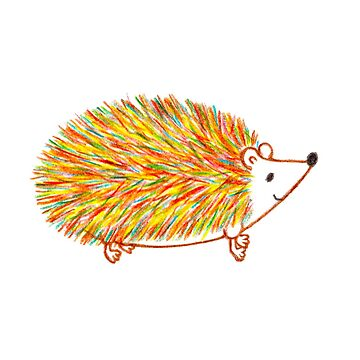 Autumn Hedgehog by m-lapino