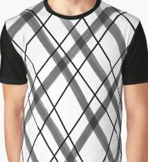 Black and White Painted Diamonds 1 Graphic T-Shirt