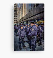 New York's Finest Canvas Print