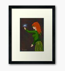 Kayla the Sorceress Framed Print
