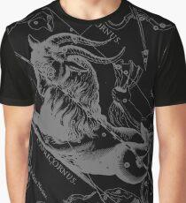 Capricorn Zodiac Sign Hevelius Circa 1690 Graphic T-Shirt