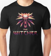 Retro Witcher Pixel Art Unisex T-Shirt