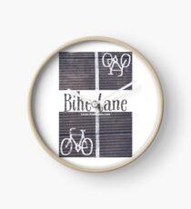 Bike lane Clock