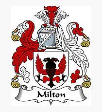 Milton Photographic Print