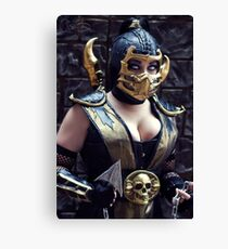 Thicc Scorpion Canvas Print