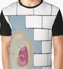 The Scream- Another Rick in the Wall Graphic T-Shirt