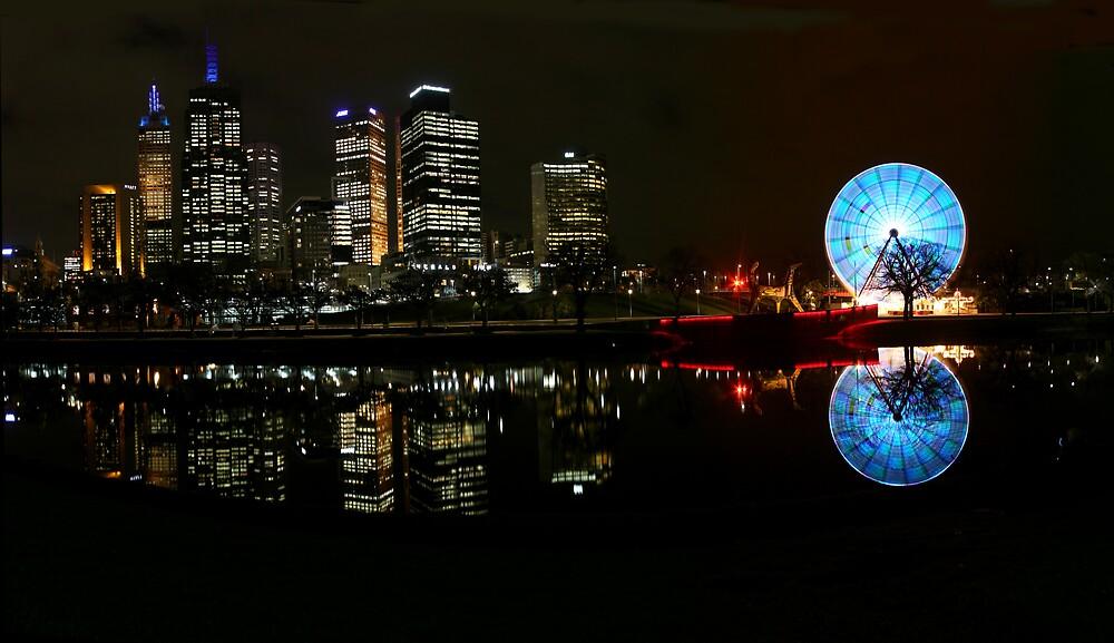 Melbourne Eye by Joe Bennett