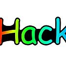 Hashtag HACKER by indrora