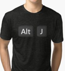 alt-J Keyboard Tri-blend T-Shirt