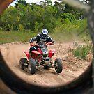 Tyred Rider. by Chris Coetzee