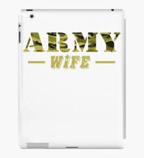 Army Wife - Proud Army Wife T-Shirt iPad Case/Skin