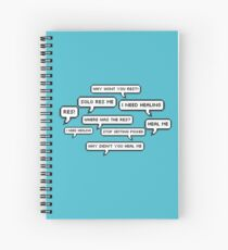 Life Of A Mercy Main Spiral Notebook
