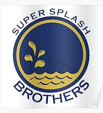 Super Splash Brothers  Poster