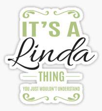 Linda Sticker