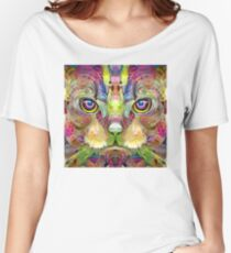 Psy-Cat (Electric Catnip) Women's Relaxed Fit T-Shirt