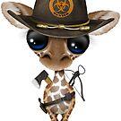 Baby-Giraffen-Zombie-Jäger von jeff bartels