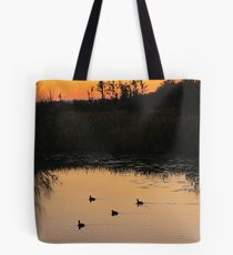 Coots on Econfina Tote Bag