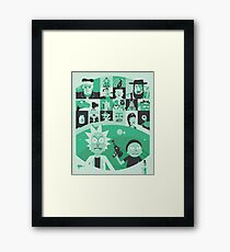 You Know Me! Framed Print