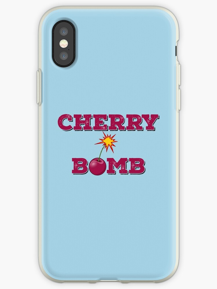 new concept 348a1 6cbca 'cherry bomb' iPhone Case by kpoploser