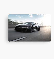 Custom Widebody Audi R8 Canvas Print