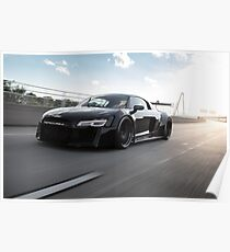 Custom Widebody Audi R8 Poster