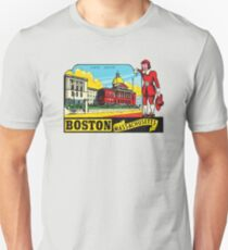 Boston Massachusetts State House 00419 T-Shirt