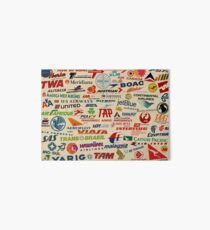 AIRLINES Art Board Print