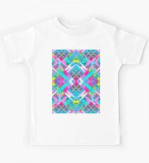 Colorful digital art splashing G481 Kids Tee