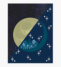 Moon Forest Photographic Print