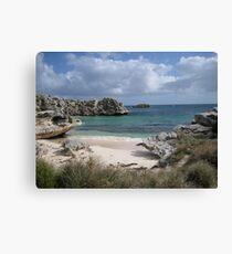 Pinkys Bay Rottnest Island 7 Canvas Print