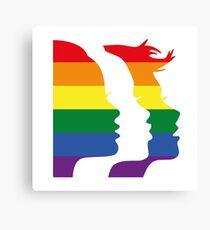 Women's March Global x Pride Canvas Print