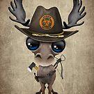 Baby-Elch-Zombie-Jäger von jeff bartels