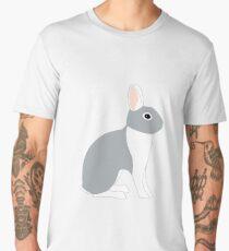 Lilac White Eared Rabbit Men's Premium T-Shirt