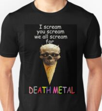 Metal of Death v. Cream of Ice Unisex T-Shirt