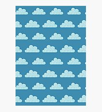 Cloud Pattern Photographic Print
