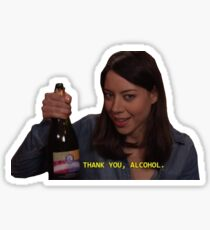 thank you alcohol  Sticker