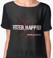 fitter happier Chiffon Top
