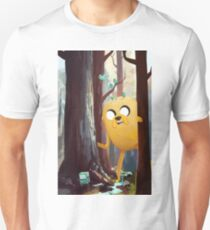 Jake n' BMO Hide and Seek Unisex T-Shirt