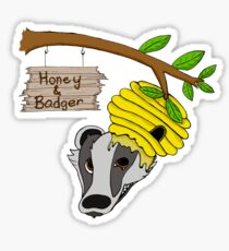 Honey & Badger Logo V1.0 Sticker